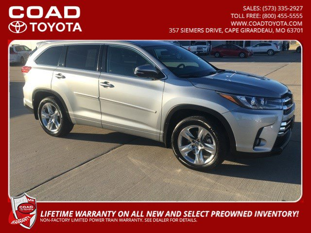 Used 2018 Toyota Highlander in Cape Girardeau, MO