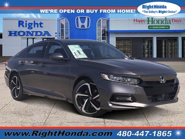2020 Honda Accord Sport Sport 1.5T CVT Intercooled Turbo Regular Unleaded I-4 1.5 L/91 [7]