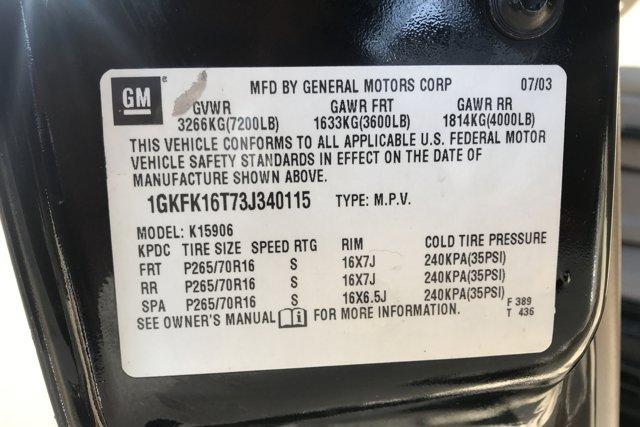 Used 2003 GMC Yukon XL 4dr 1500 4WD SLT