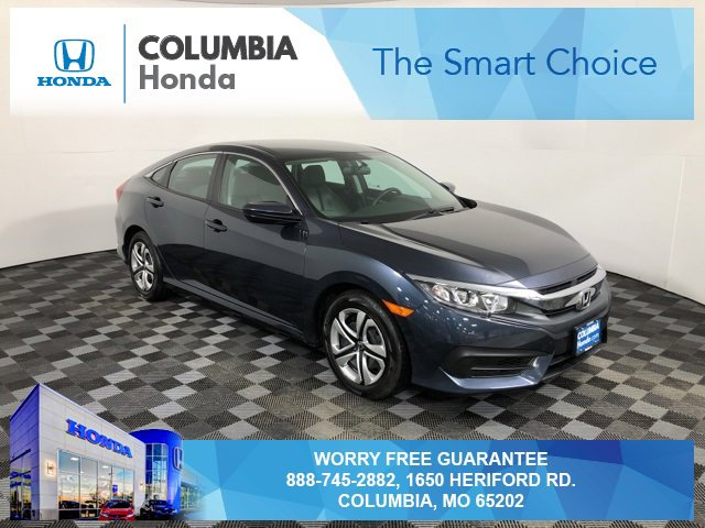 Used 2017 Honda Civic Sedan in Columbia, MO
