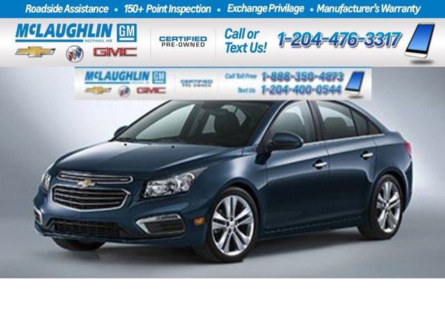 2015 Chevrolet Cruze 2LT 4dr Sdn 2LT Turbocharged Gas I4 1.4L/83 [8]