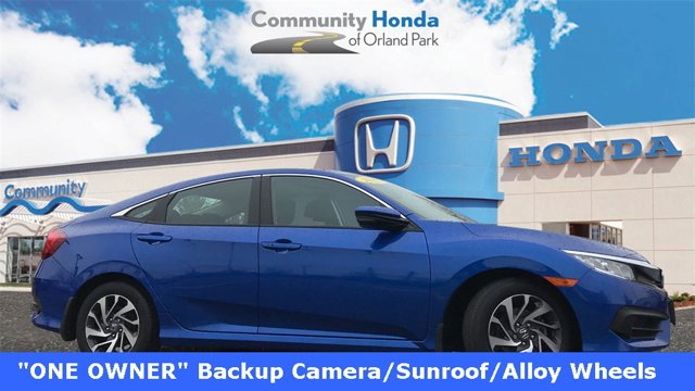 Used 2017 Honda Civic Sedan in Orland Park, IL