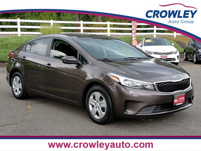 2018 Kia Forte LX BLACK  PREMIUM CLOTH SEAT TRIM CARGO NET TITANIUM BRONZE BLACK  CLOTH SEAT TRI