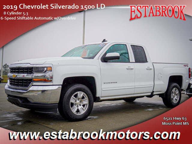 Used 2019 Chevrolet Silverado 1500 LD in Moss Point, MS