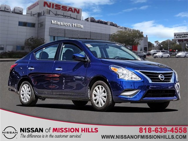 2019 Nissan Versa Sedan SV SV CVT Regular Unleaded I-4 1.6 L/98 [18]