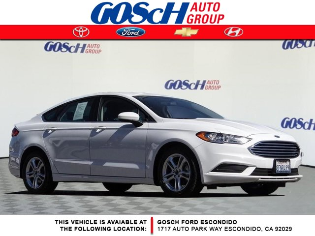 2018 Ford Fusion SE SE FWD Regular Unleaded I-4 2.5 L/152 [2]