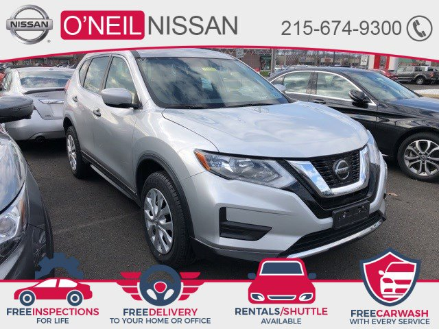 2018 Nissan Rogue S AWD S Regular Unleaded I-4 2.5 L/152 [3]