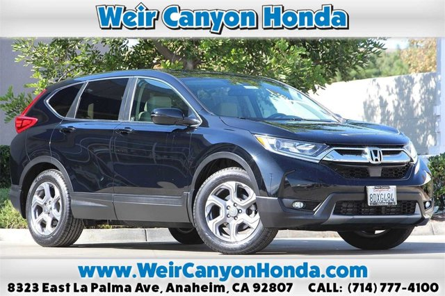 2017 Honda CR-V EX EX 2WD Intercooled Turbo Regular Unleaded I-4 1.5 L/91 [18]