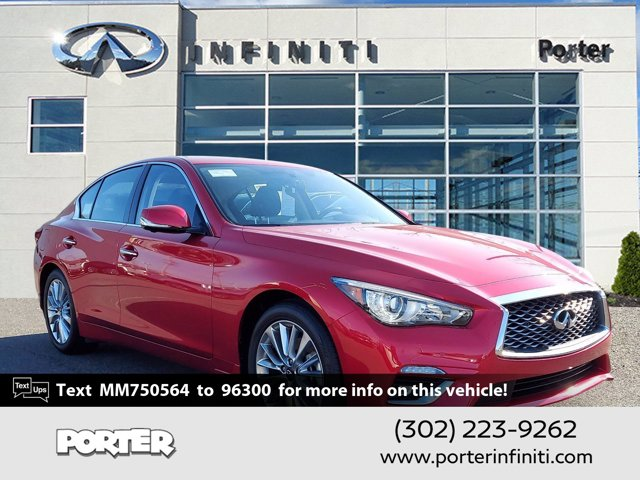 2021 INFINITI Q50 3.0t LUXE 3.0t LUXE AWD Twin Turbo Premium Unleaded V-6 3.0 L/183 [6]
