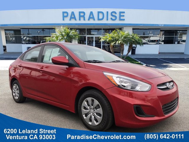 2017 Hyundai Accent SE SE Sedan Auto Regular Unleaded I-4 1.6 L/97 [1]