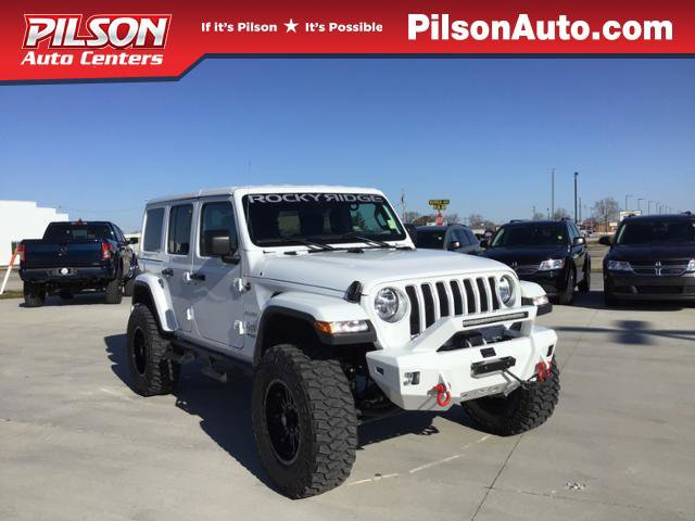 New 2019 Jeep Wrangler Unlimited in Mattoon, IL
