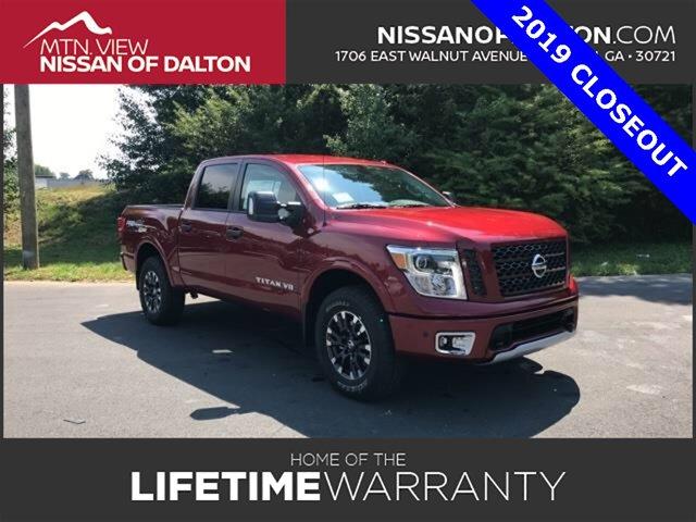 New 2019 Nissan Titan in Dalton, GA