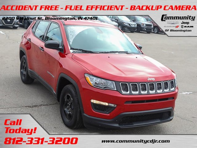Used 2019 Jeep Compass in Bloomington, IN