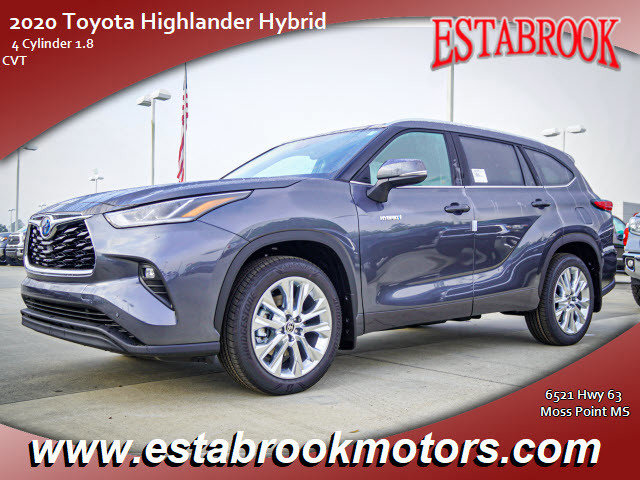 New 2020 Toyota Highlander Hybrid in Moss Point, MS