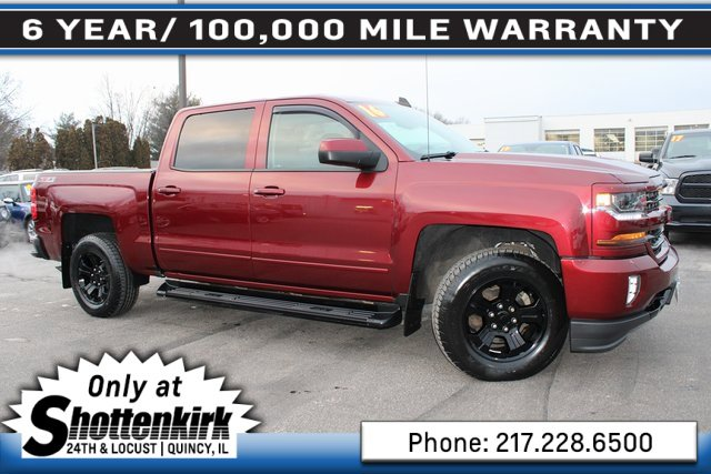 Used 2016 Chevrolet Silverado 1500 in Quincy, IL