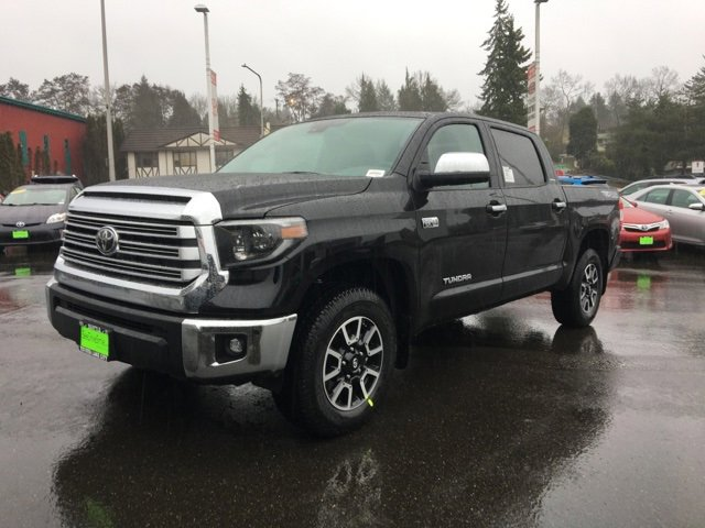 New 2020 Toyota Tundra 4WD Limited CrewMax 5.5' Bed 5.7L