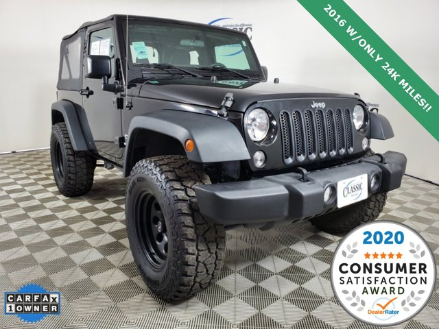 Used 2016 Jeep Wrangler in Midland, TX