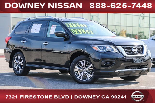 2017 Nissan Pathfinder S FWD S Regular Unleaded V-6 3.5 L/213 [0]