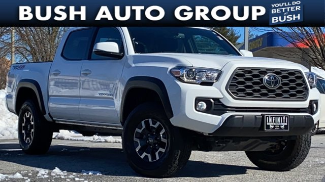 2020 Toyota Tacoma 4WD TRD Off Road TRD Off Road Double Cab 5' Bed V6 AT Regular Unleaded V-6 3.5 L/211 [8]