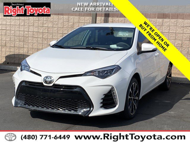 2017 Toyota Corolla SE SE CVT Regular Unleaded I-4 1.8 L/110 [3]
