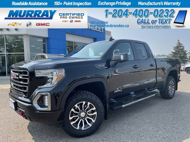 """2019 GMC Sierra 1500 AT4 4WD Double Cab 147"""" AT4 Gas V8 5.3L/ [2]"""