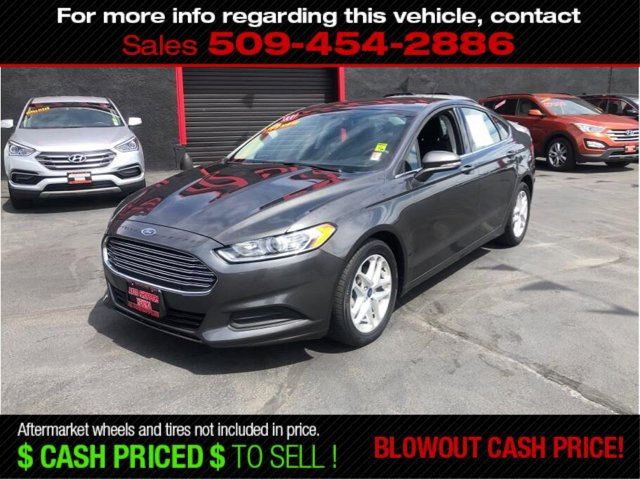 Used 2016 Ford Fusion 4dr Sdn SE FWD