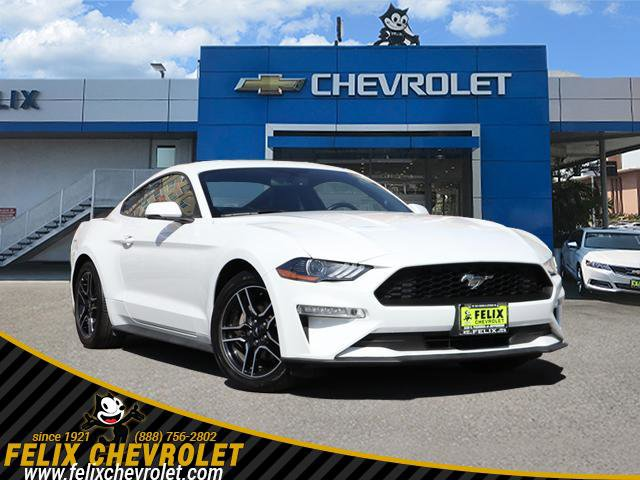 2018 Ford Mustang EcoBoost EcoBoost Fastback Intercooled Turbo Premium Unleaded I-4 2.3 L/140 [1]