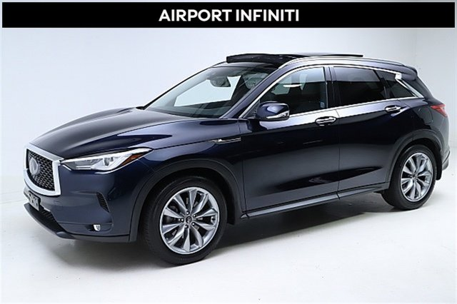 2019 INFINITI QX50 LUXE LUXE AWD Intercooled Turbo Premium Unleaded I-4 2.0 L/121 [0]