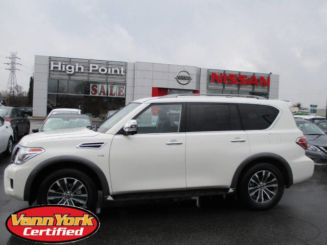 New 2020 Nissan Armada in High Point, NC