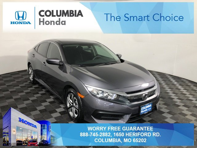 Used 2018 Honda Civic Sedan in Columbia, MO