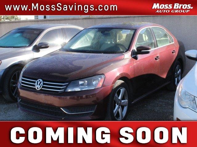 2012 Volkswagen Passat 2.5L SE  Gas I5 2.5L/151 [1]