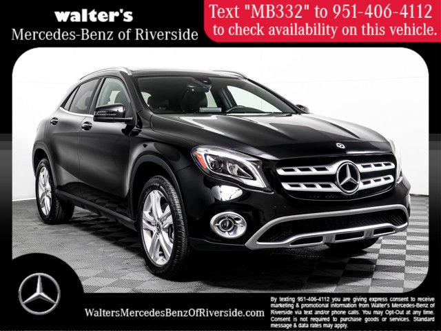 2018 Mercedes-Benz GLA 250 4MATIC GLA 250 4MATIC SUV Intercooled Turbo Gasoline I-4 2.0 L/121 [2]