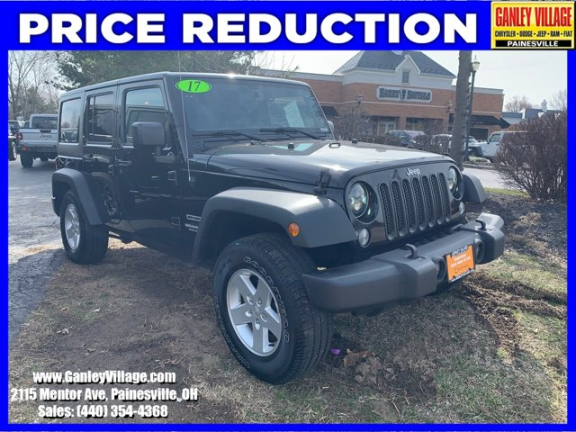 Used 2017 Jeep Wrangler Unlimited in Cleveland, OH