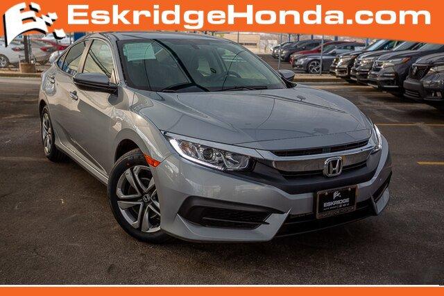Used 2017 Honda Civic Sedan in Oklahoma City, OK