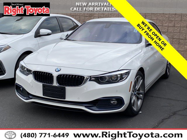 2019 BMW 4 Series 430i 430i Convertible Intercooled Turbo Premium Unleaded I-4 2.0 L/122 [1]