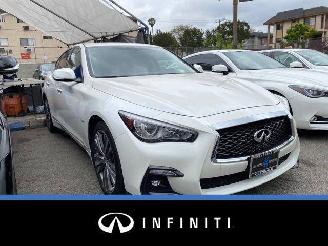 2018 INFINITI Q50 3.0t SPORT 3.0t SPORT RWD Twin Turbo Premium Unleaded V-6 3.0 L/183 [19]