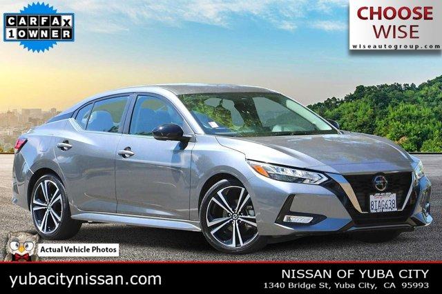 2020 Nissan Sentra SR SR CVT Regular Unleaded I-4 2.0 L/122 [5]