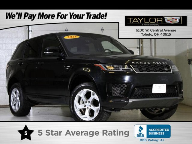 2018 Land Rover Range Rover Sport HSE Supercharged Four Wheel Drive Air Suspe
