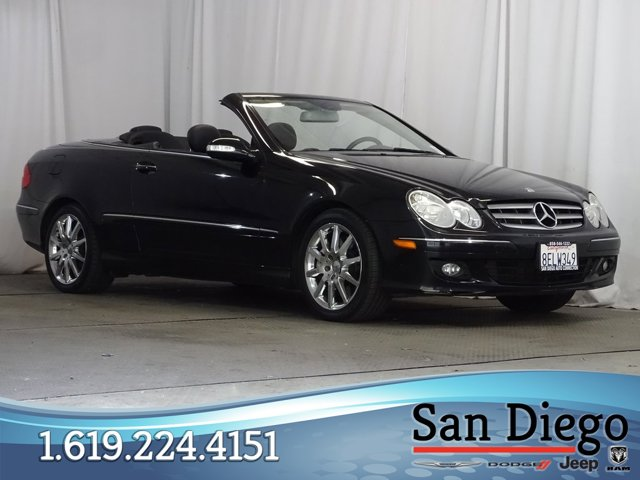 Used 2007 Mercedes-Benz CLK-Class in San Diego, CA