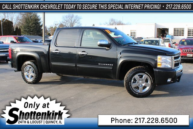 Used 2011 Chevrolet Silverado 1500 in Quincy, IL