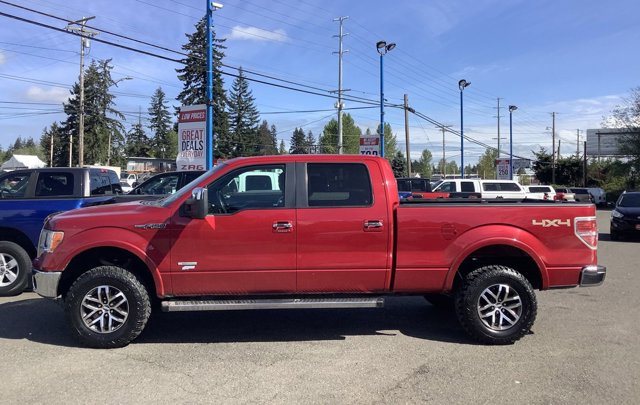 Used 2011 Ford F-150 4WD SuperCrew 145 Lariat