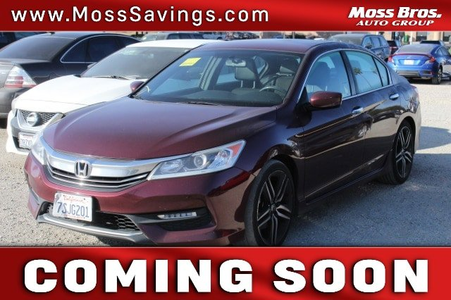 2016 Honda Accord Sedan Sport 4dr I4 CVT Sport Regular Unleaded I-4 2.4 L/144 [1]