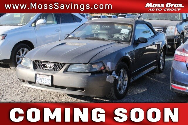 2002 Ford Mustang  Gas V6 3.8L/232 [9]