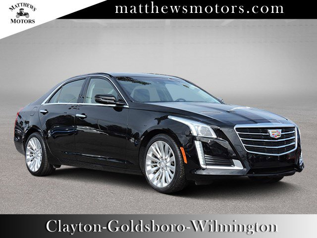 2015 Cadillac CTS Sedan Luxury RWD w/ Nav & Panoramic Sunroof