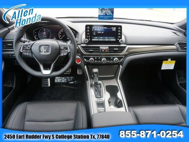 New 2020 Honda Accord Sedan in College Station, TX