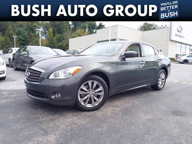 2013 INFINITI M37 M37X AWD Leather Nav Sunroof Back up Camera 4dr Sdn AWD Gas V6 3.7L/226 [1]