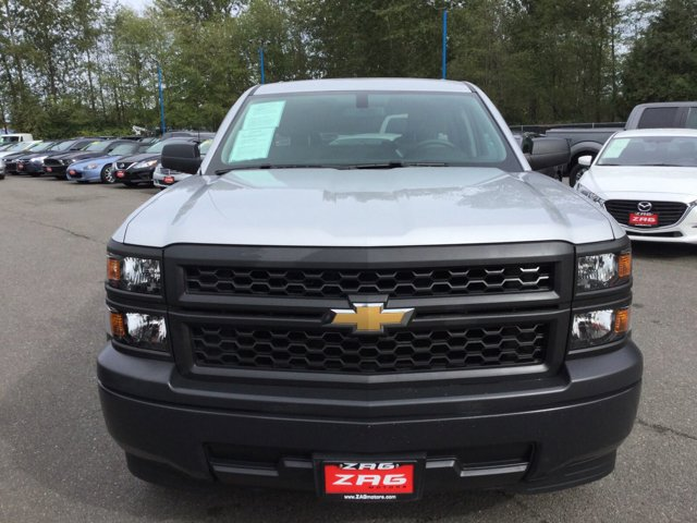 Used 2014 Chevrolet Silverado 1500 2WD Double Cab 143.5 Work Truck w-1WT