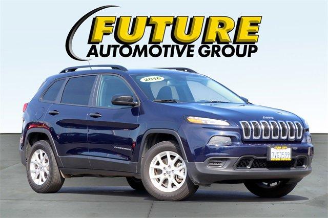 Used 2016 Jeep Cherokee in Yuba City, CA
