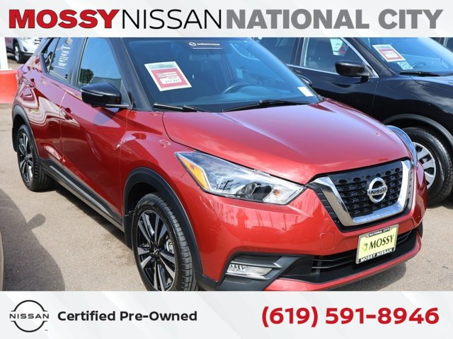 2018 Nissan Kicks SR SR FWD Regular Unleaded I-4 1.6 L/98 [1]