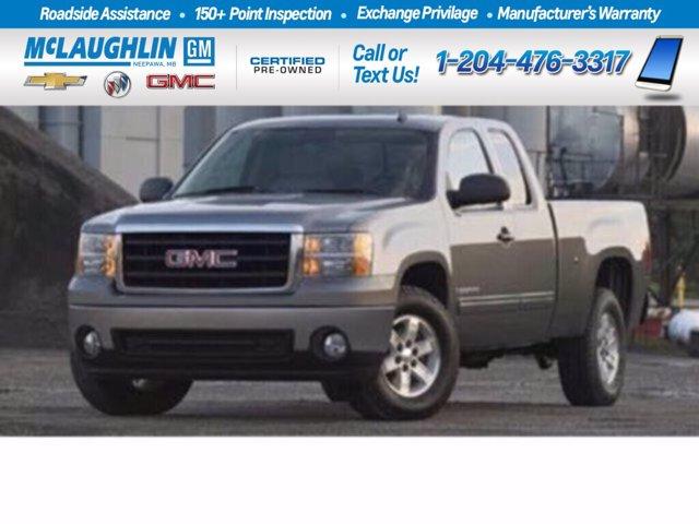 """2008 GMC Sierra 2500HD SLE 4WD Ext Cab 143.5"""" SLE Gas V8 6.0L/366 [6]"""